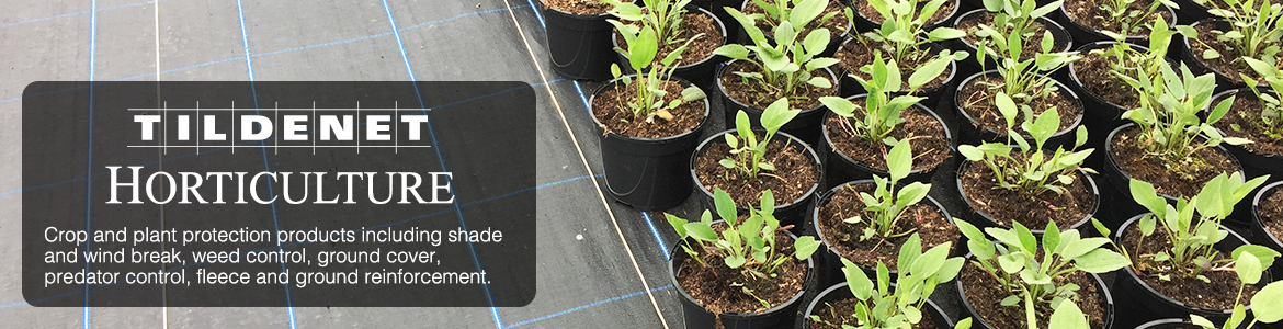 Horticultural Netting and Products from Tildenet
