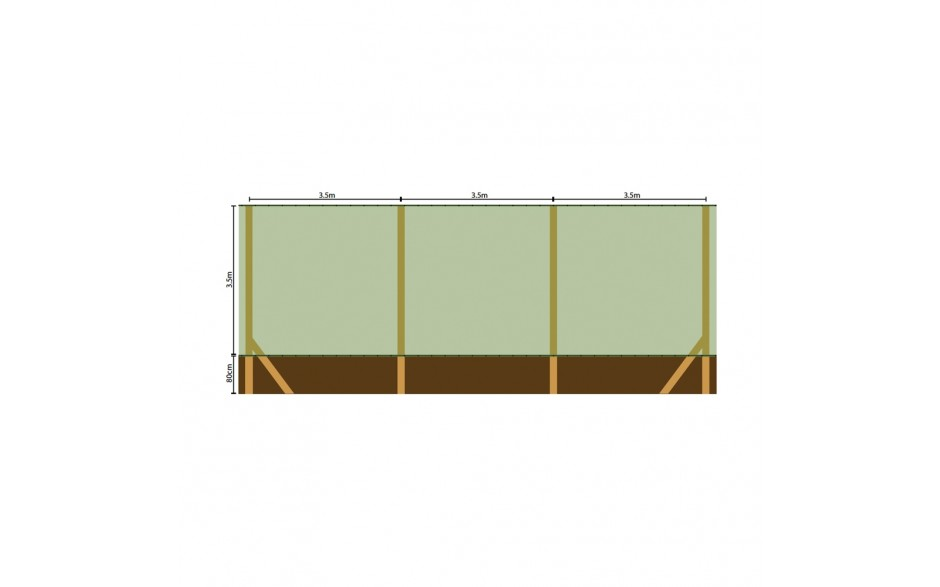 Extruded Windbreaks - Standard/Heavy Duty from Tildenet