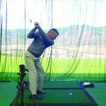 Indoor Golf Teaching Net