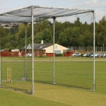 Mobile Cricket Net - Aluminium/Galvanised